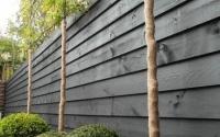Красивый деревяный забор