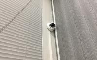 Камера видеонаблюдения на доме
