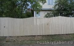 Фото распашных ворот в Сергиевом Посаде.
