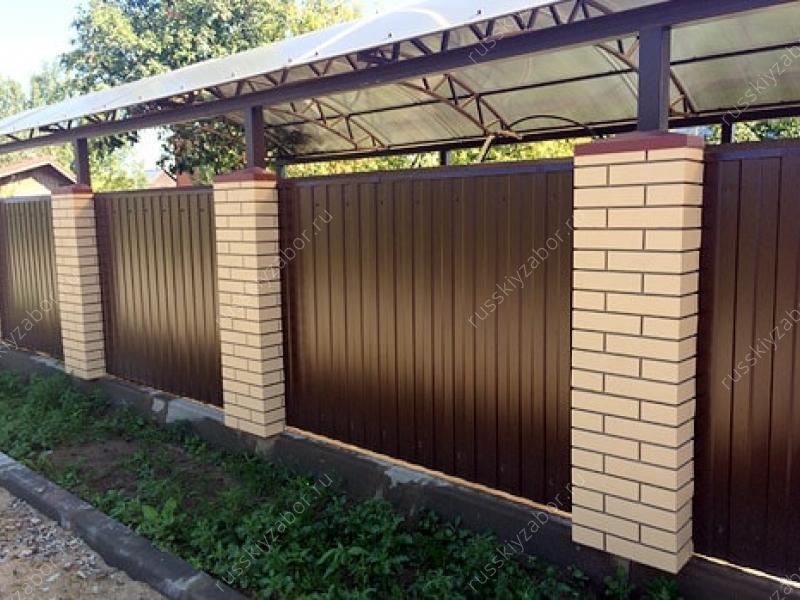 Установка панели пикс на ворота