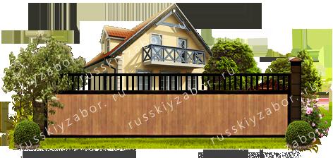 деревянный забор - цена, купить, установка