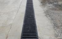 ВГотовый въезд на участок с бетонированием русла водостока