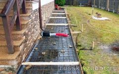 Устройство гидроизоляции отмостки вокруг дома с дождеприемниками